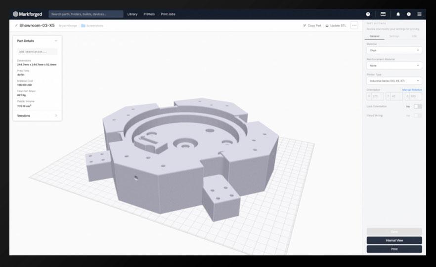 Eiger, il software di slicing di Markforged, é disponibile per tutte le stampanti Markforged | 3D Company