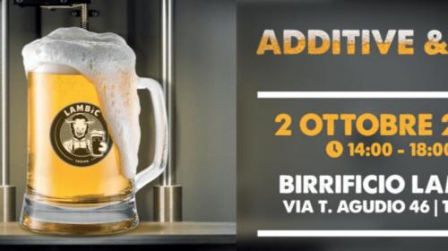 Additive & Beer il 2 ottobre a Torino
