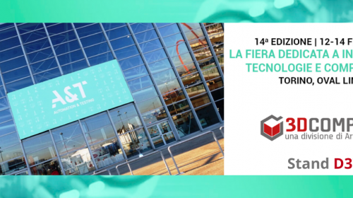 3D Company ad A&T 2020: vieni a trovarci!