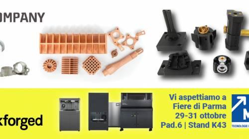 MECSPE 2020 del 29-31/10/2020, vieni a vedere dal vivo le nostre stampanti 3D e le sue applicazioni