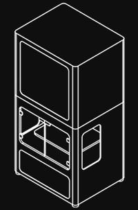 Markforged Metal X disegno tecnico