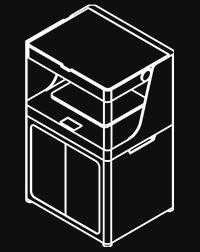 Disegno tecnico Stampante 3D Professionale Markforged X7