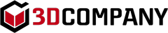 3D Company - logo rosso e nero