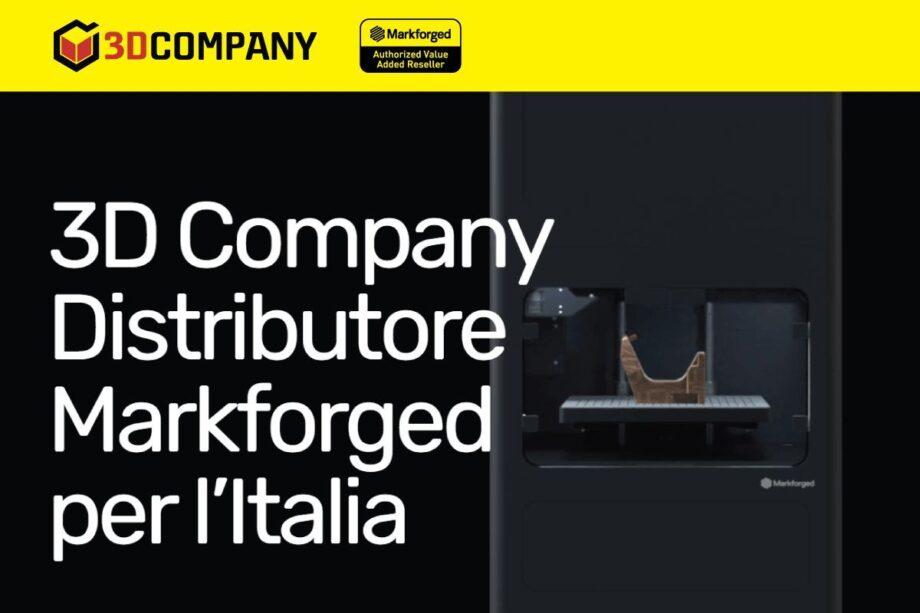 Nuovo sito 3D Company online - Le stampanti 3D Markforged per l'Italia