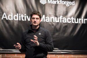 Greg Mark, founder of Markforged