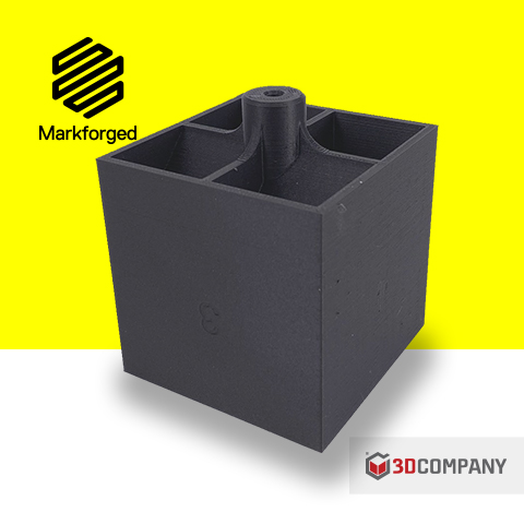 Blocchetto di posizionamento in Onyx con la stampante 3D Markforged X7